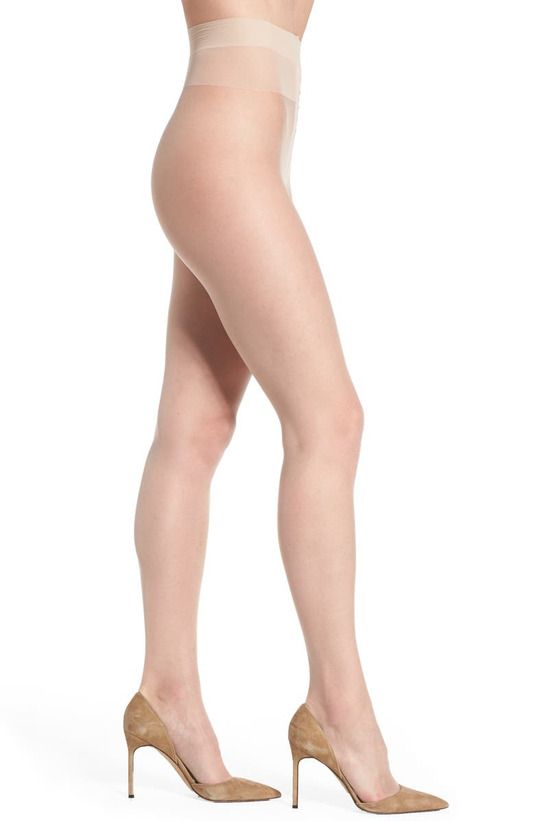 DONNA KARAN NEW YORK Donna Karan 'The Nudes' Sheer to Waist Hosiery, Main, color, A01