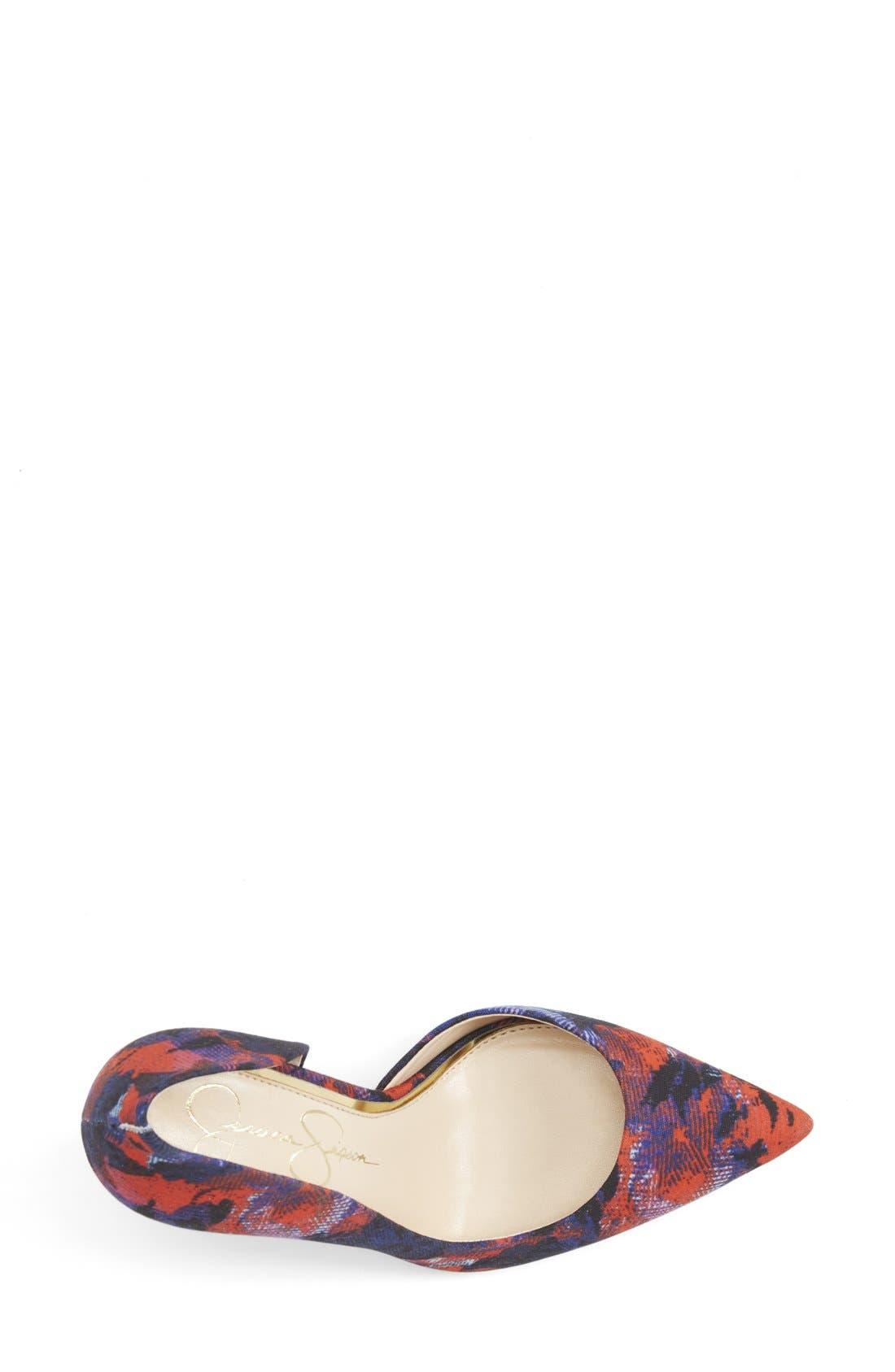,                             'Claudette' Half d'Orsay Pump,                             Alternate thumbnail 164, color,                             401
