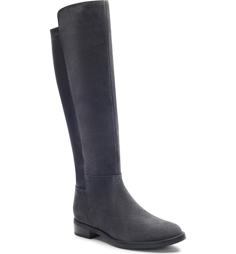 BLONDO Ellie Waterproof Knee High Riding Boot, Main, color, 020