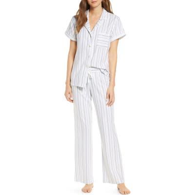 UGG Rosan Stripe Pajamas, Green