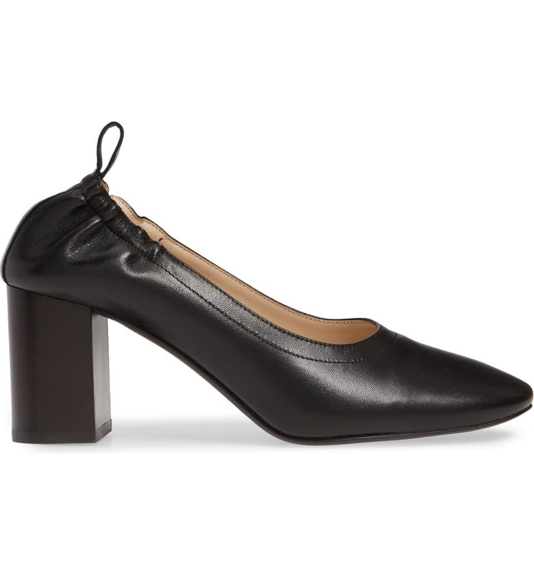 EVERLANE The Day High Heel Pump, Main, color, BLACK STACKED