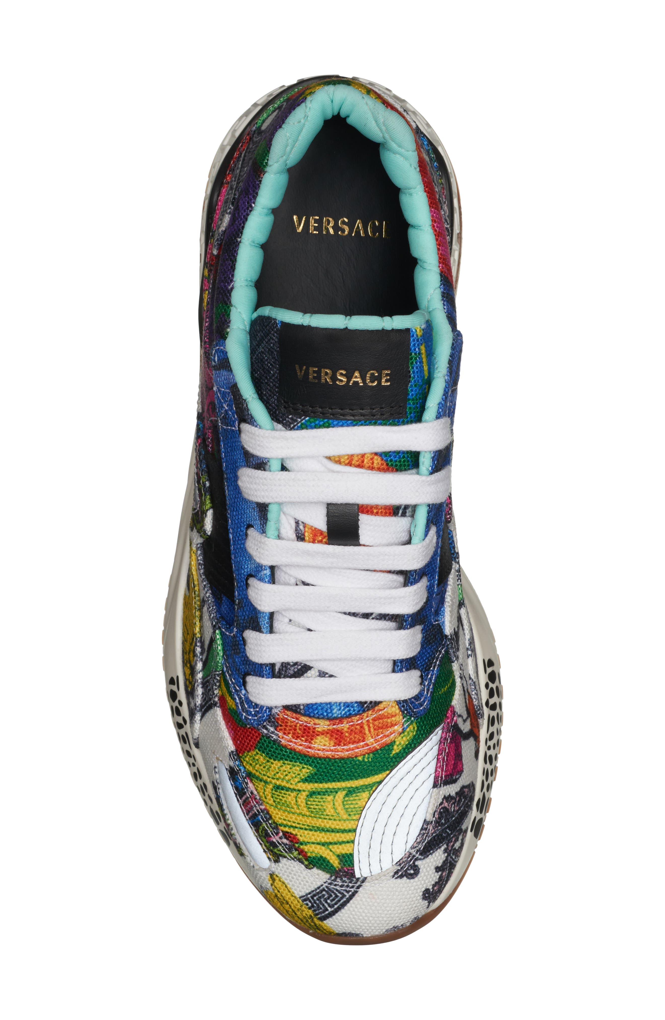 ,                             Multi Print Sneaker,                             Alternate thumbnail 5, color,                             400