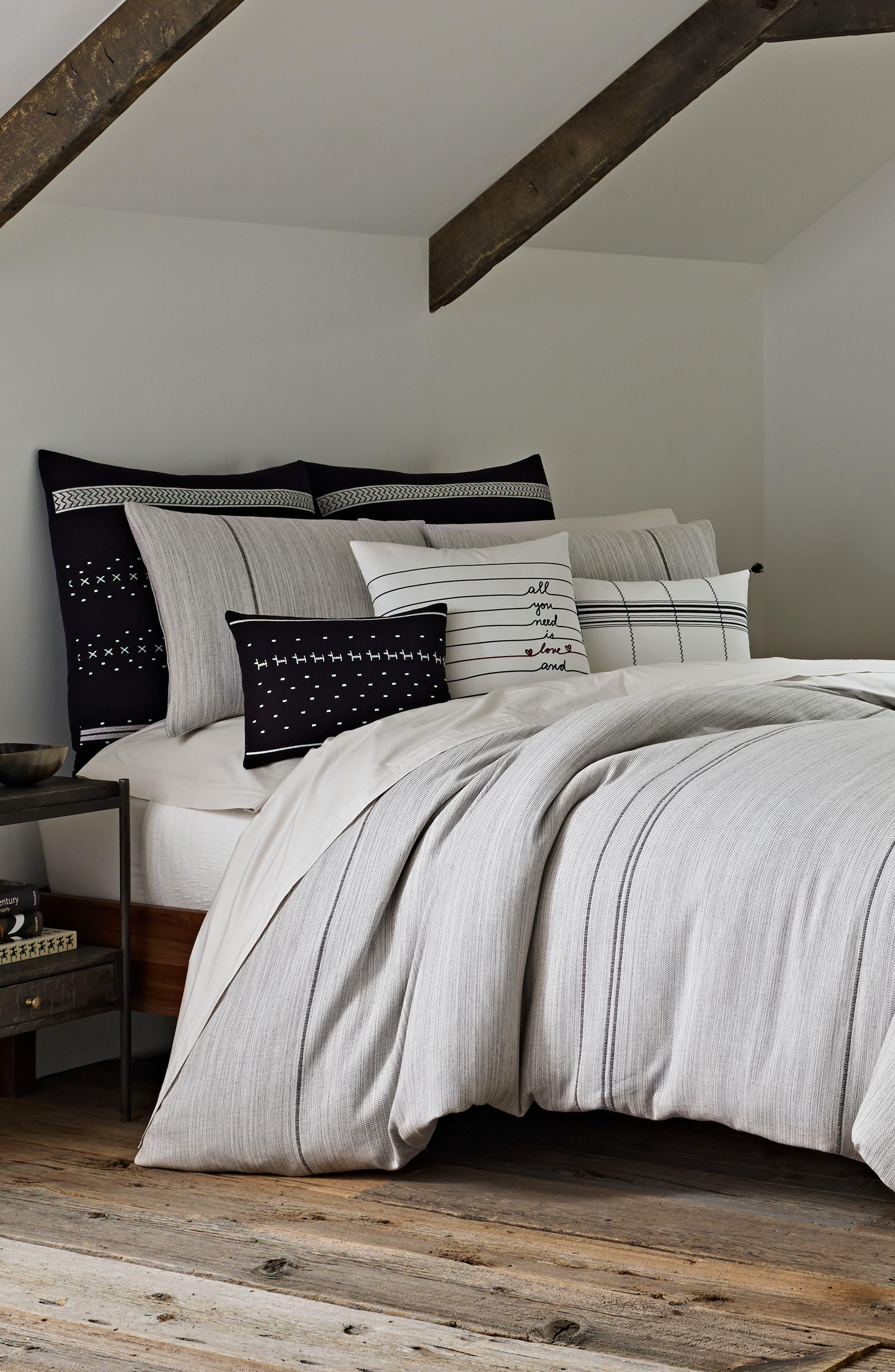 Alta Comforter & Sham Set, Main, color, GREY