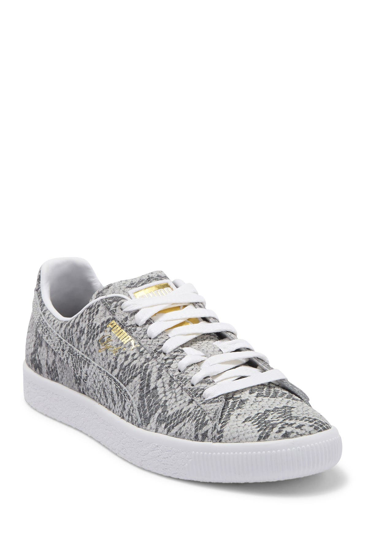 PUMA | Clyde AO Leather Snake Embossed