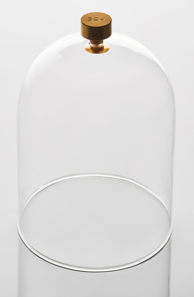 SOH MELBOURNE Glass Cloche, Main, color, CLEAR