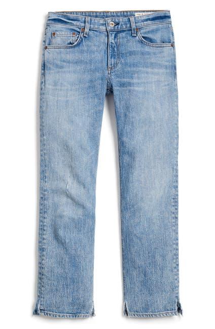 Image of Rag & Bone Dre Low Rise Slim Boyfriend Jeans