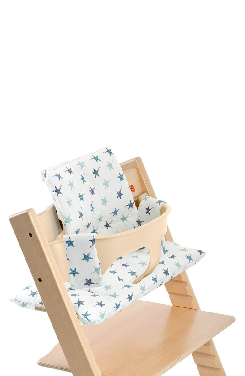 STOKKE Tripp Trapp<sup>®</sup> Classic Seat Cushions, Main, color, AQUA BLUE