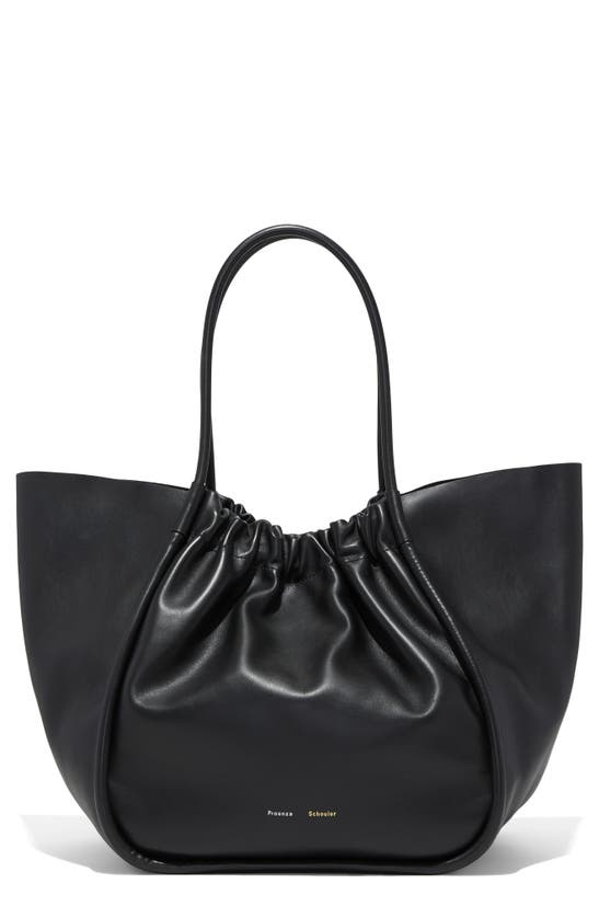 Proenza Schouler EXTRA LARGE L RUCHED LEATHER TOTE