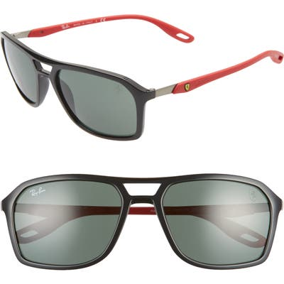Ray-Ban 57Mm Square Sunglasses - Black