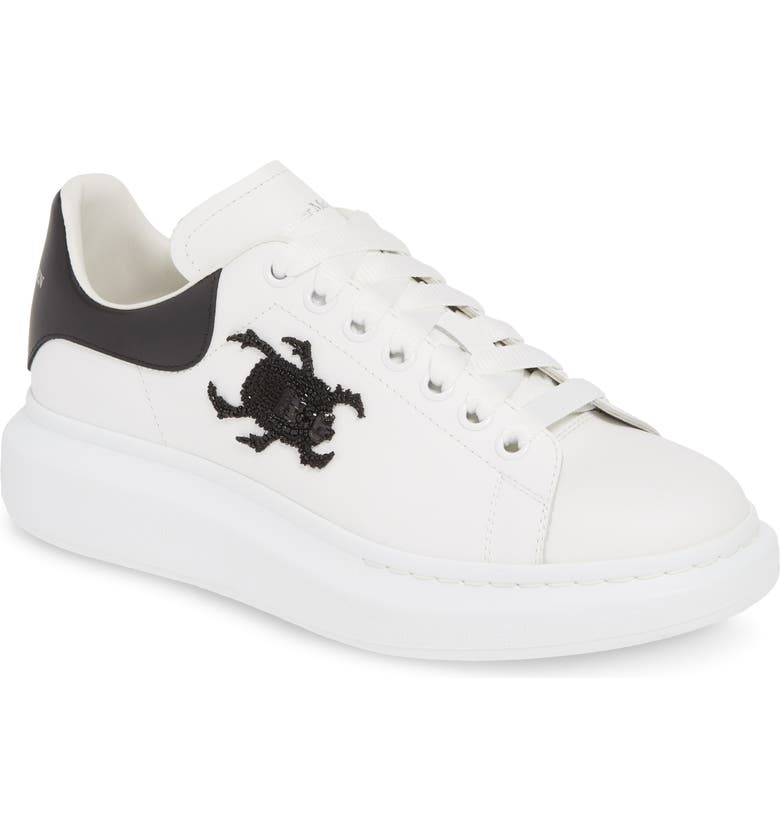 ALEXANDER MCQUEEN Oversize Runner Sneaker, Main, color, WHITE/ BLACK MULTI