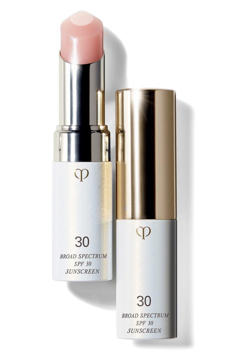 CLÉ DE PEAU BEAUTÉ UV Protective Lip Treatment Broad Spectrum SPF 30, Main, color, NO COLOR