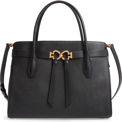 Kate Spade New York Large Toujours Leather Satchel - Black