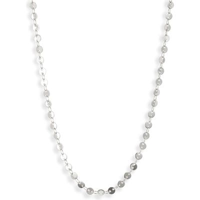 Sterling Forever Mini Disc Chain Necklace