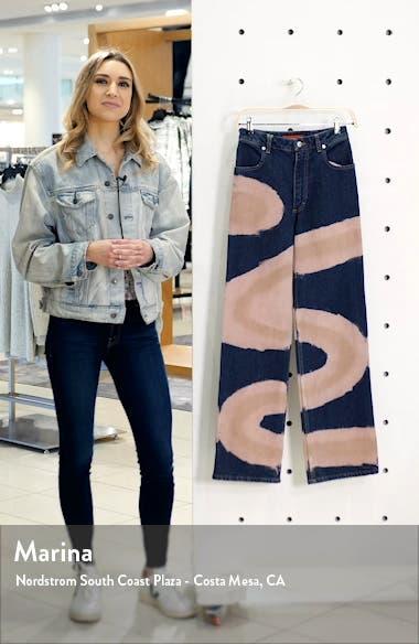 Dyed Wide Leg Jeans, sales video thumbnail