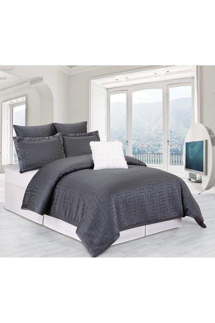 Image of Duck River Textile Queen Schillman Overfilled Comforter Set - Grey