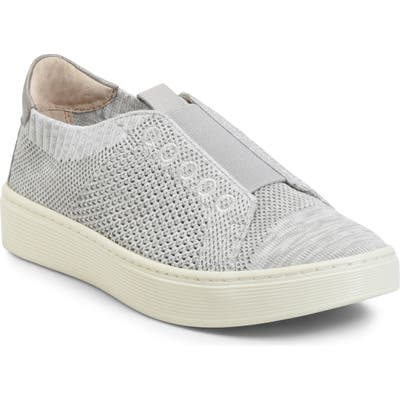 Sofft Safia Knit Slip-On Sneaker- Grey