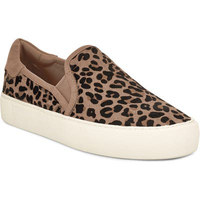 Ugg Jass Genuine Calf Hair Sneaker- Brown