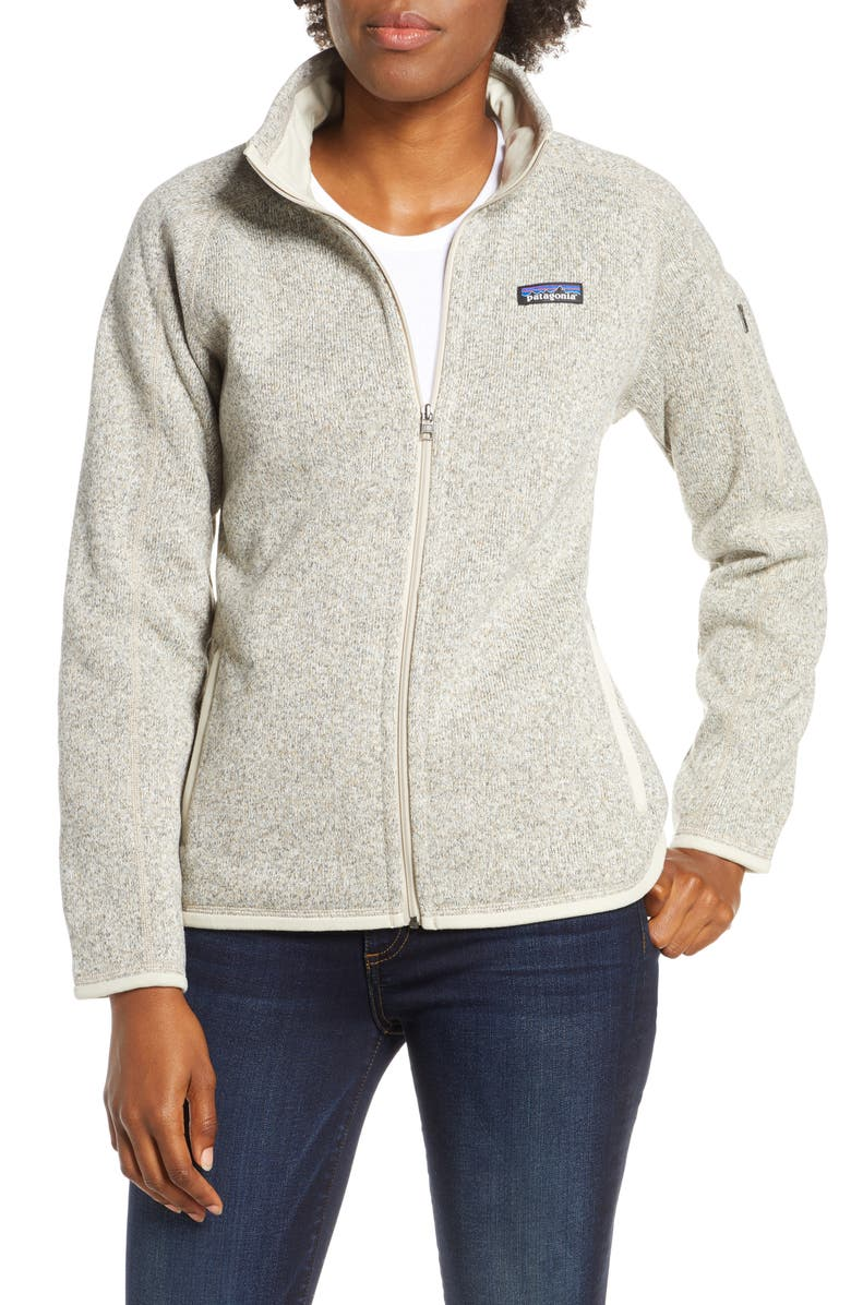 PATAGONIA Better Sweater<sup>®</sup> Jacket, Main, color, PELICAN