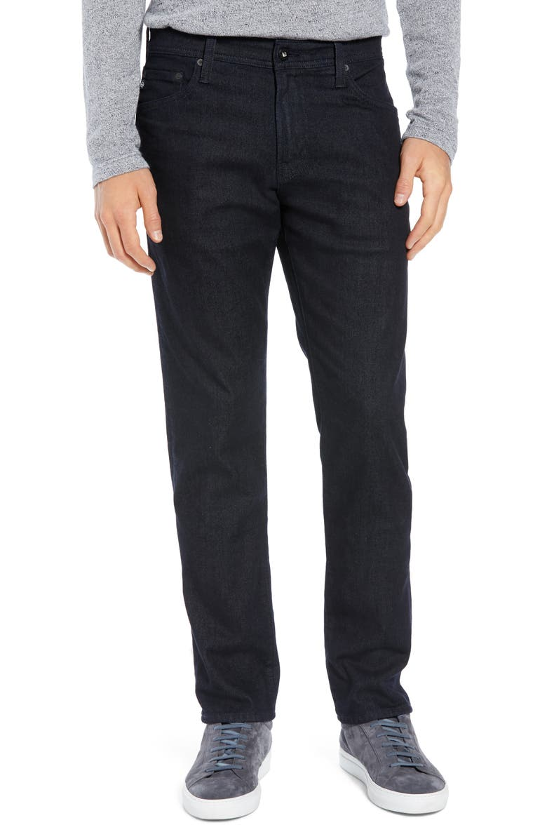 AG Tellis Slim Fit Jeans, Main, color, AGENDA