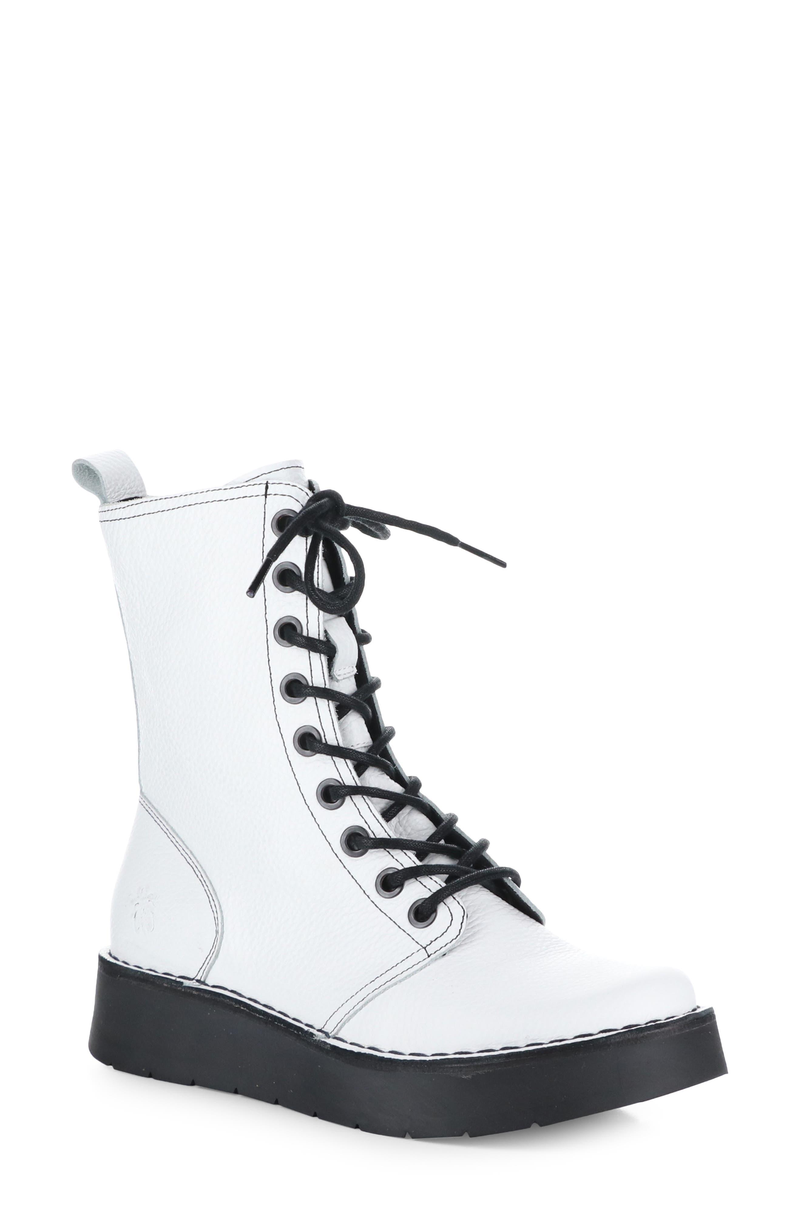 Rami Platform Lace-Up Boot