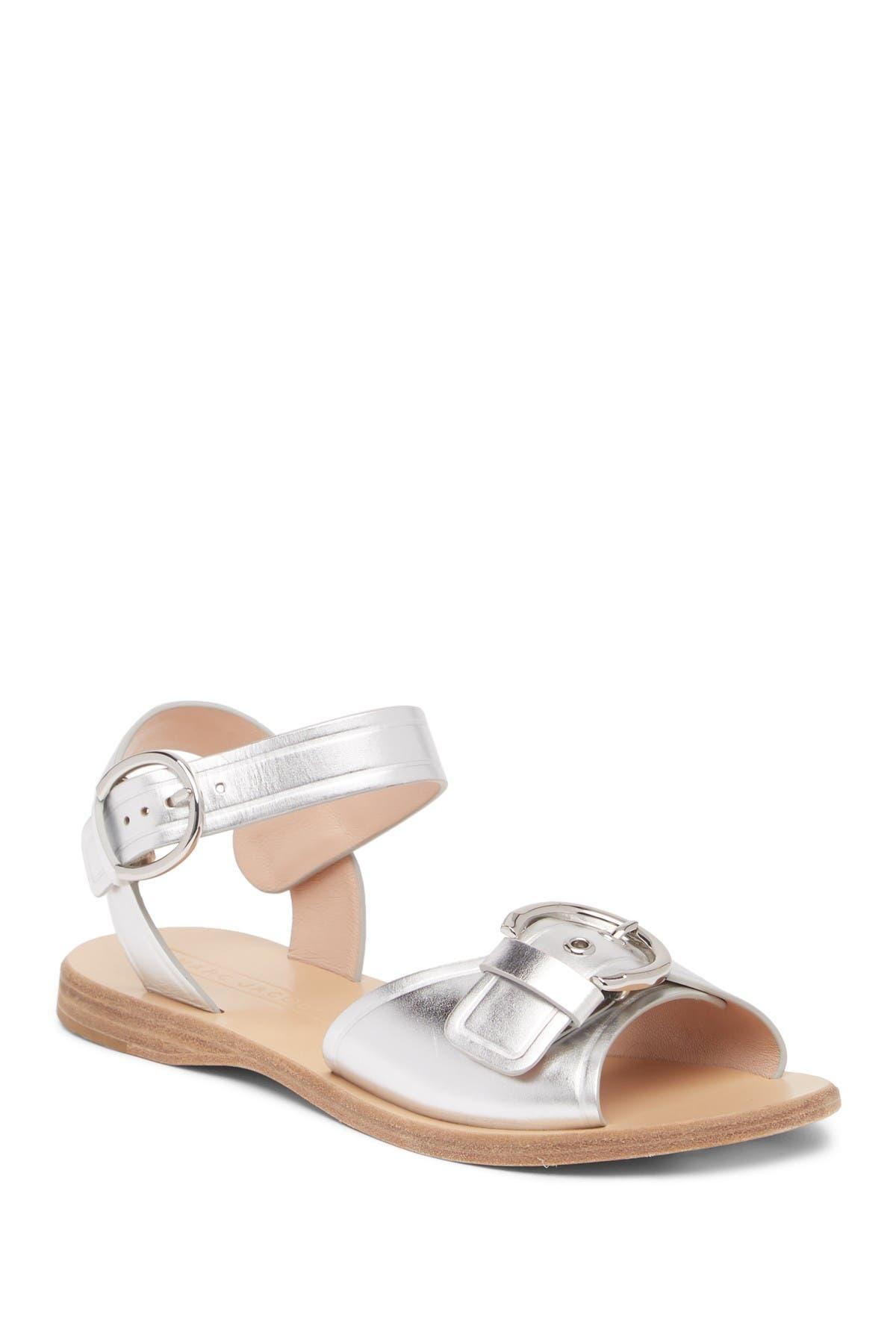 Image of Marc Jacobs Horizon Flat Leather Sandal