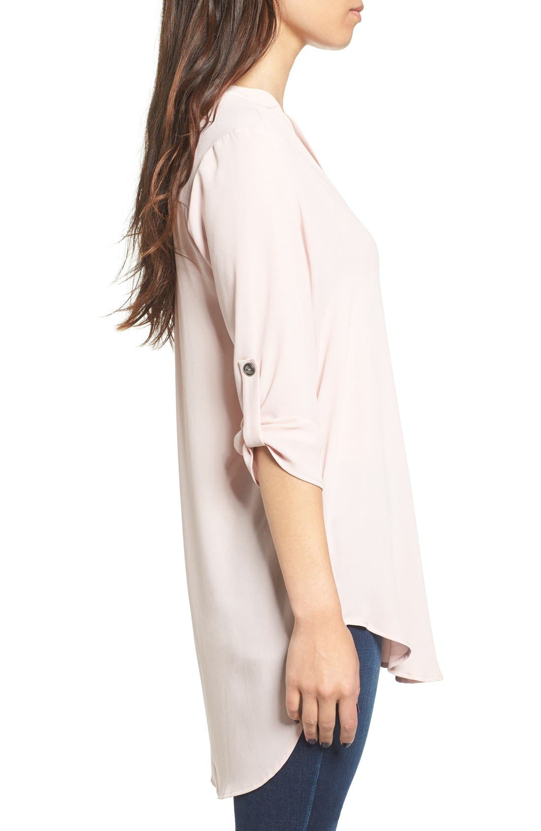 ,                             Perfect Roll Tab Sleeve Tunic,                             Alternate thumbnail 391, color,                             674