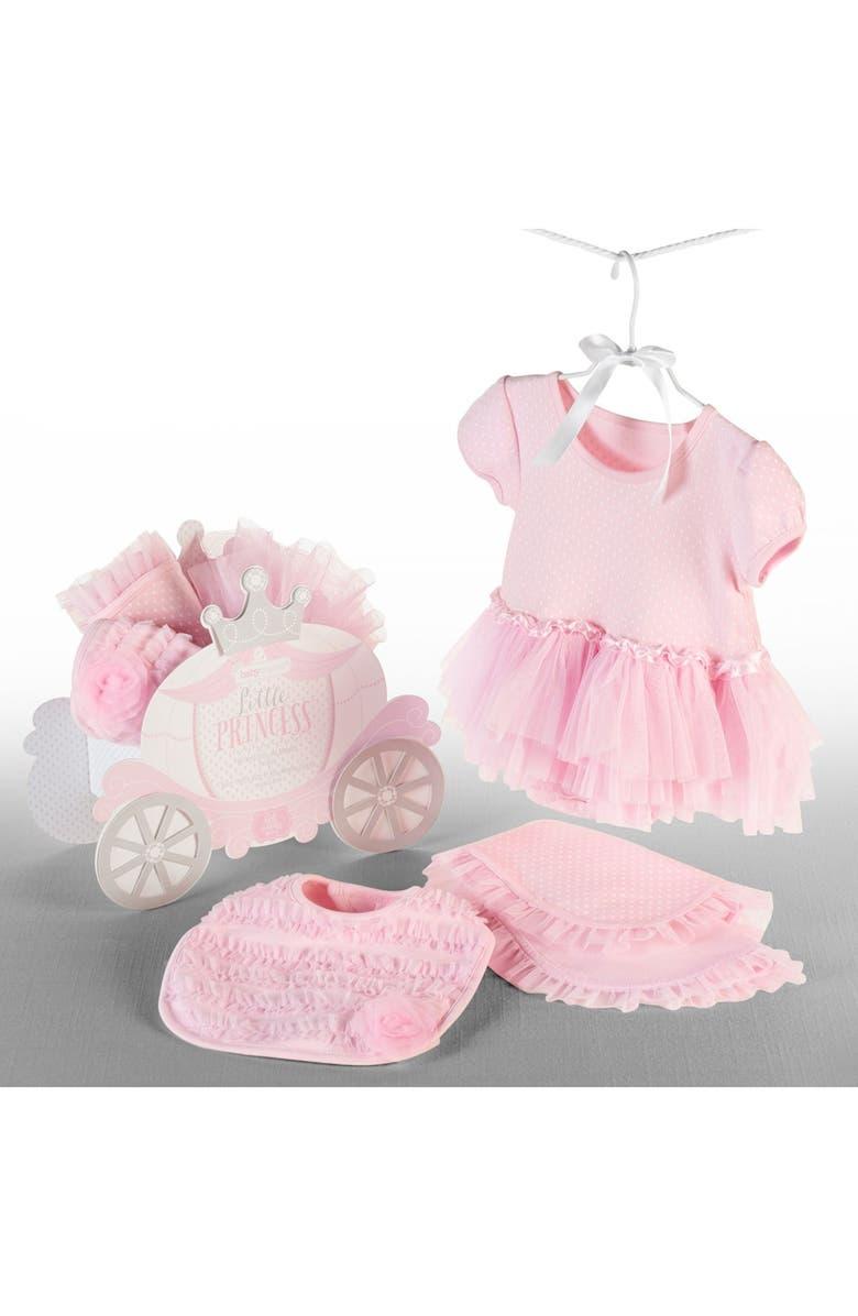 BABY ASPEN Little Princess 3-Piece Gift Set, Main, color, PINK
