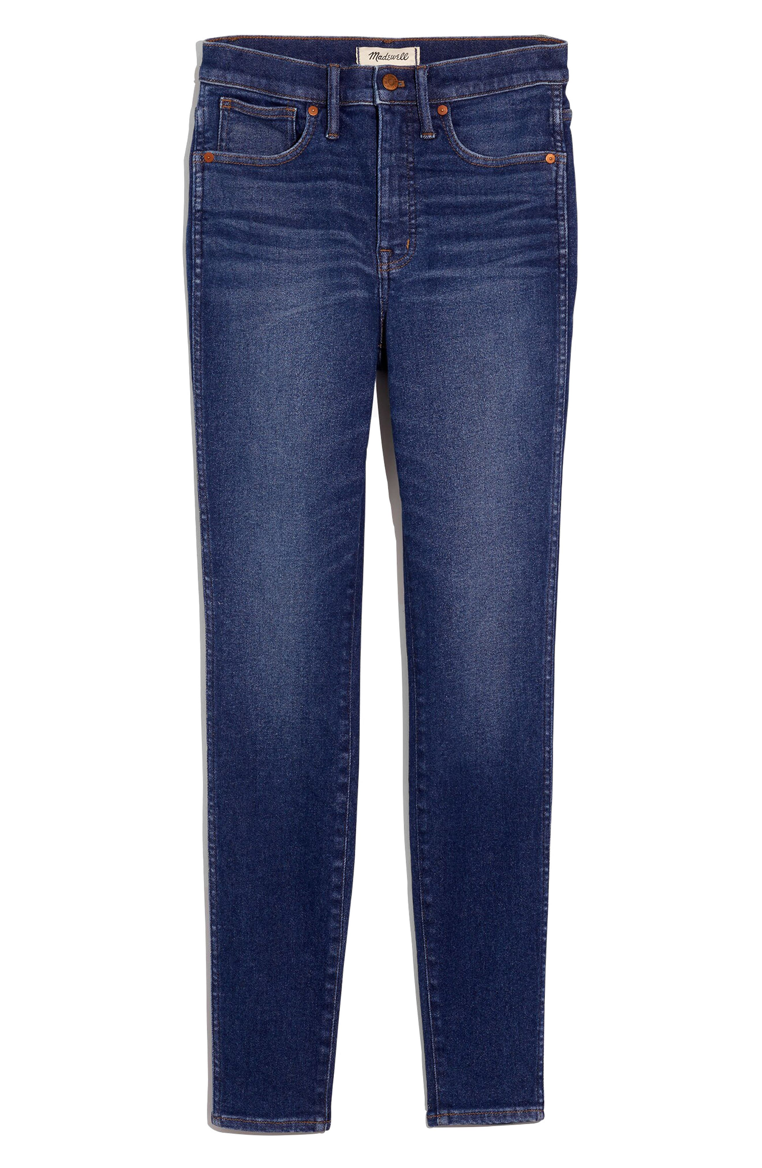 Madewell 10-Inch High Rise Skinny Jeans (Winston Wash) | Nordstrom