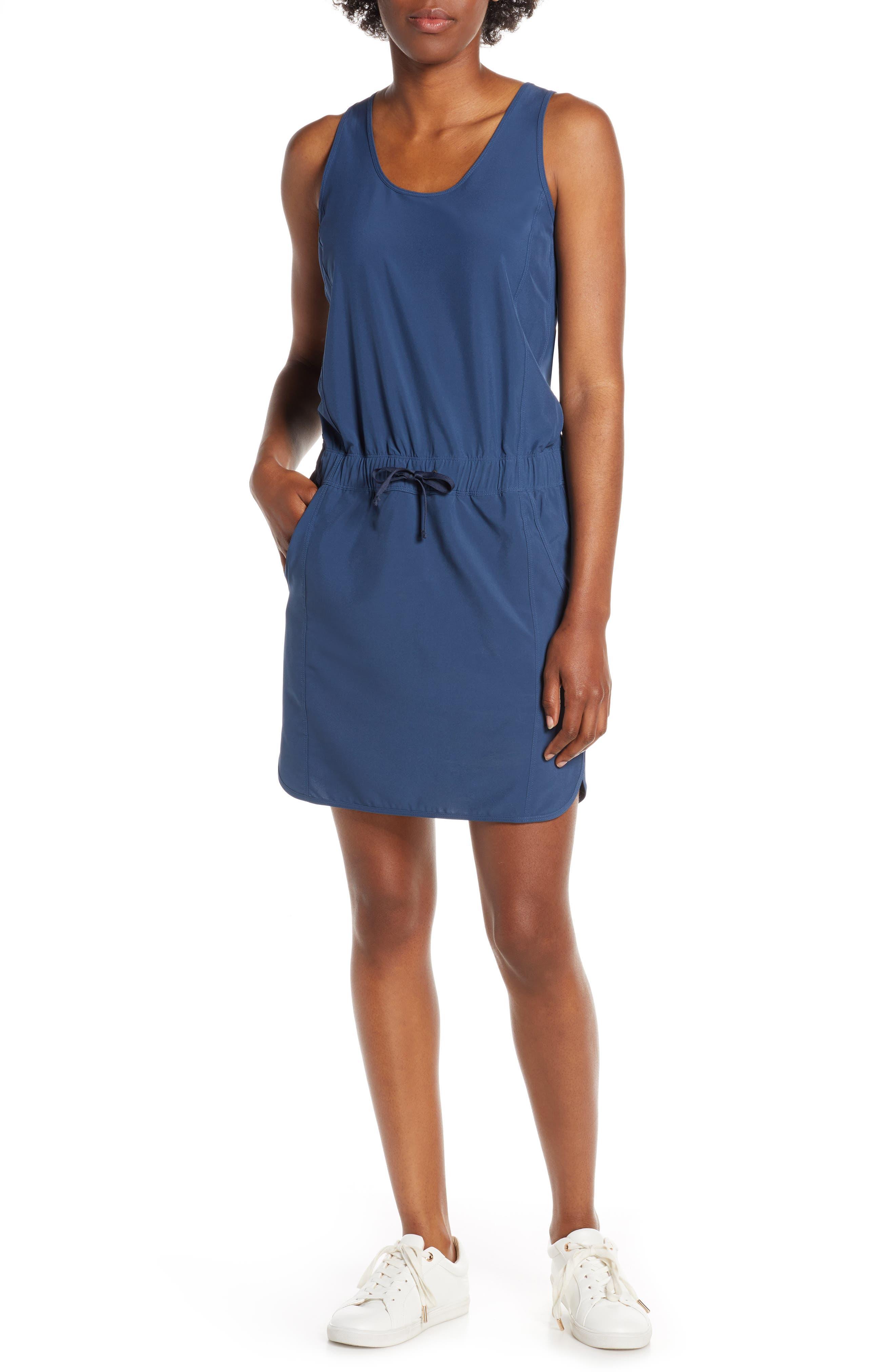 Patagonia Fleetwith Drawcord Dress, Blue