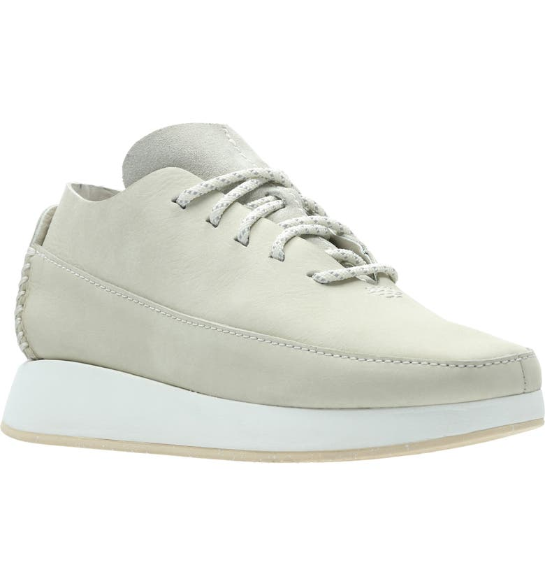 CLARKS<SUP>®</SUP> Kiowa Sport Sneaker, Main, color, OFF WHITE LEATHER