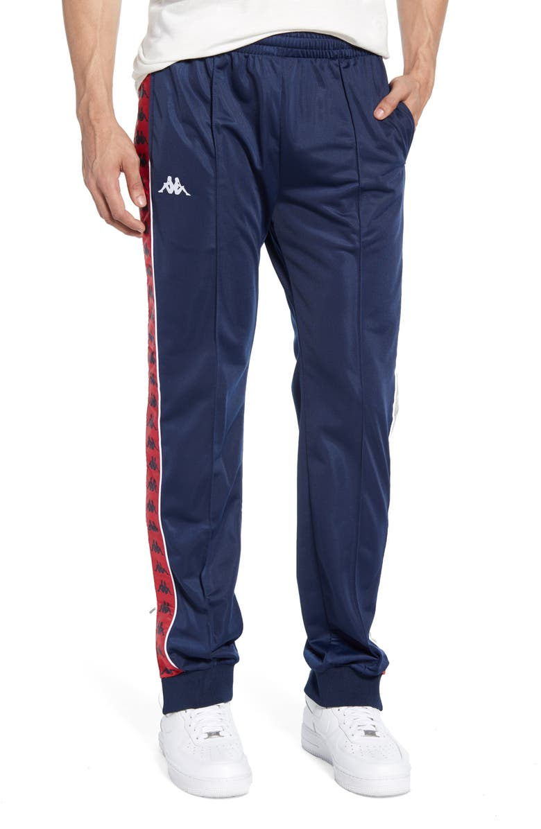 KAPPA 222 Banda Rastoriazz Slim Fit Track Pants, Main, color, NAVY