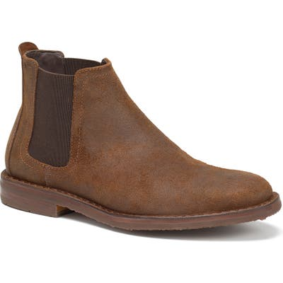 Trask Britton Chelsea Boot- Brown