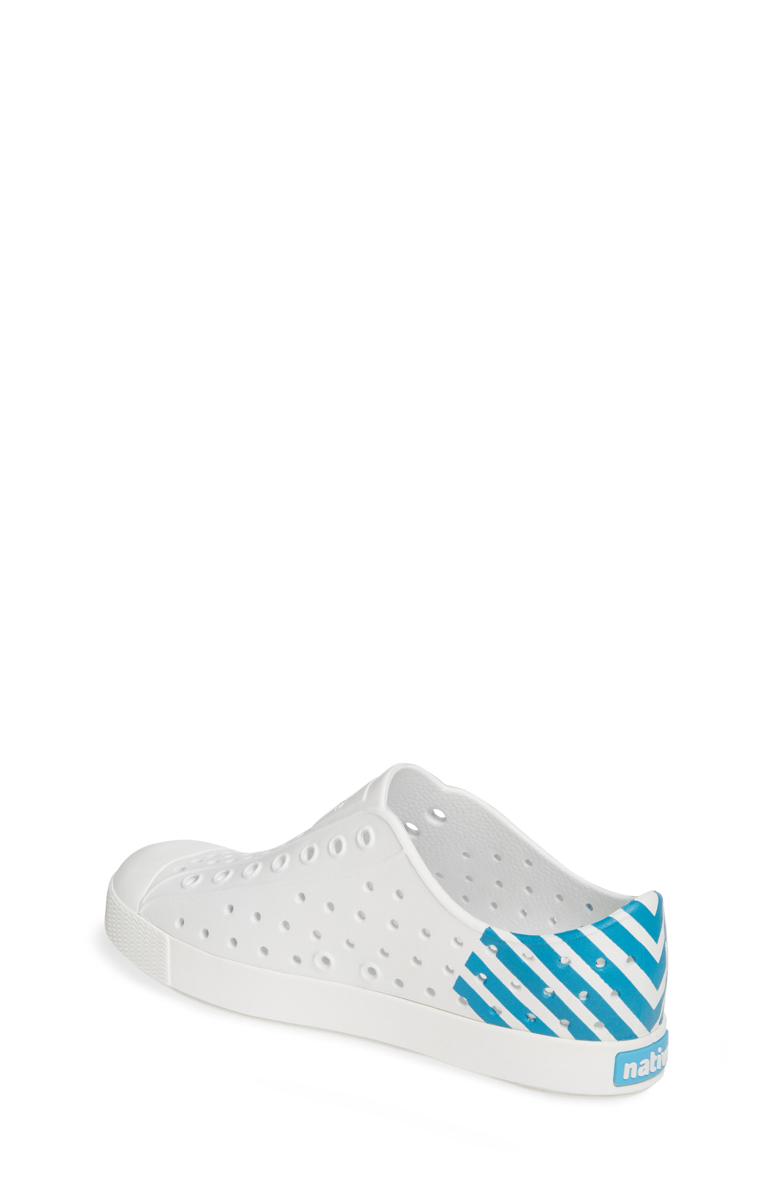 ,                             'Jefferson' Water Friendly Slip-On Sneaker,                             Alternate thumbnail 2, color,                             WHITE/ WHITE/ ULTRA GLOW BLOCK