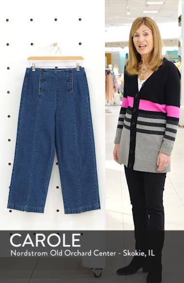 Flavia Sailor Culotte Pants, sales video thumbnail