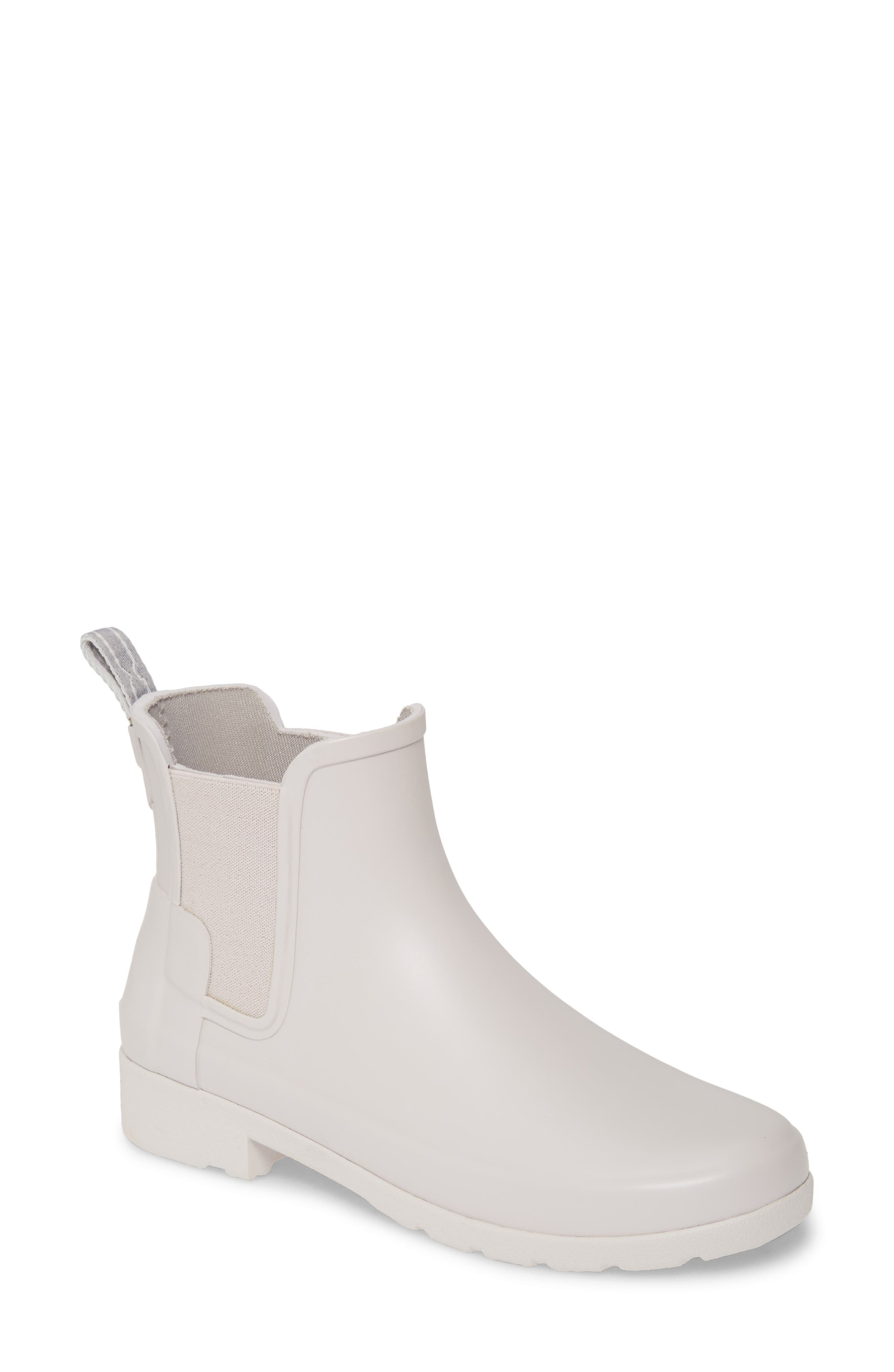 Hunter Refined Chelsea Boot, Grey