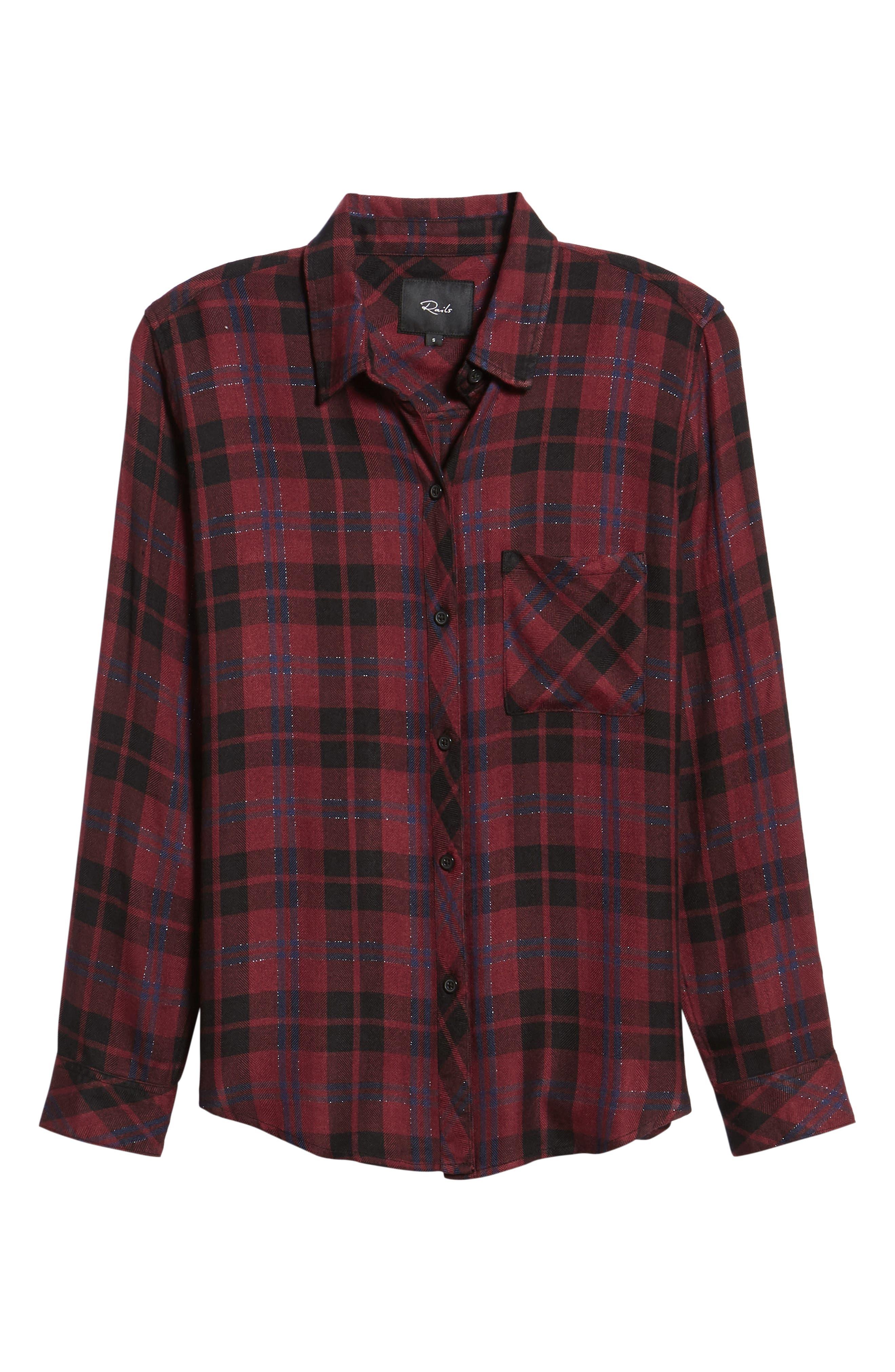 ,                             Hunter Plaid Shirt,                             Alternate thumbnail 439, color,                             932