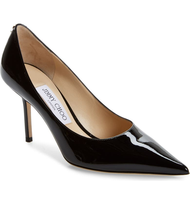 JIMMY CHOO Love Pointed Toe Pump, Main, color, 004