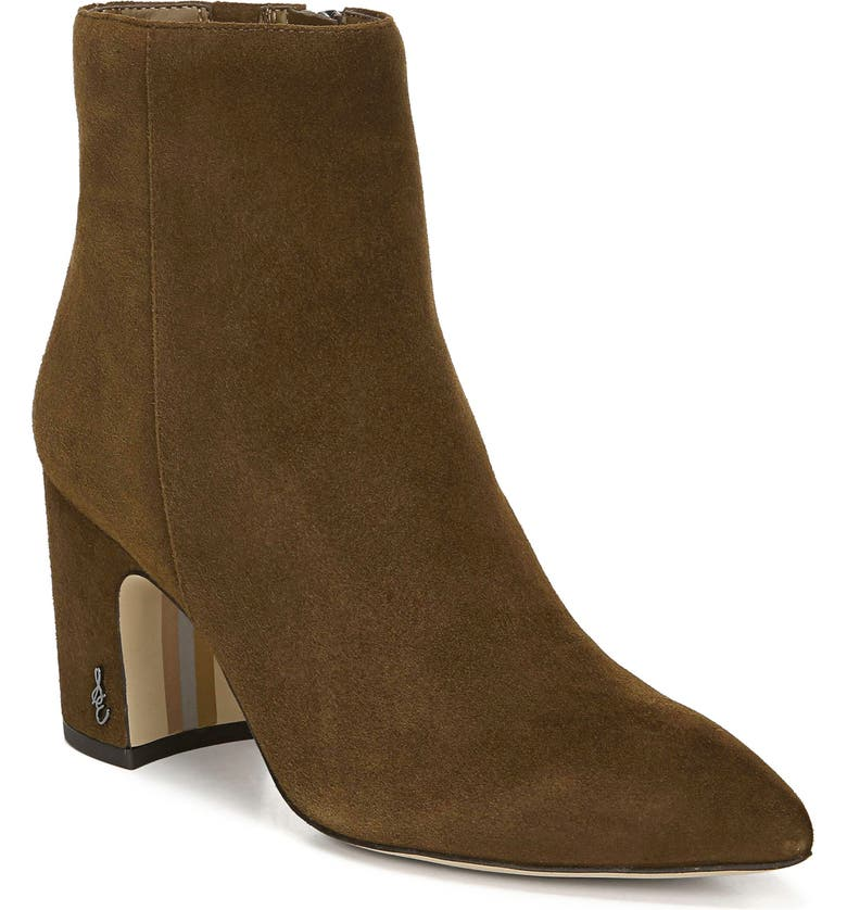 SAM EDELMAN Hilty Bootie, Main, color, HAZELNUT SUEDE
