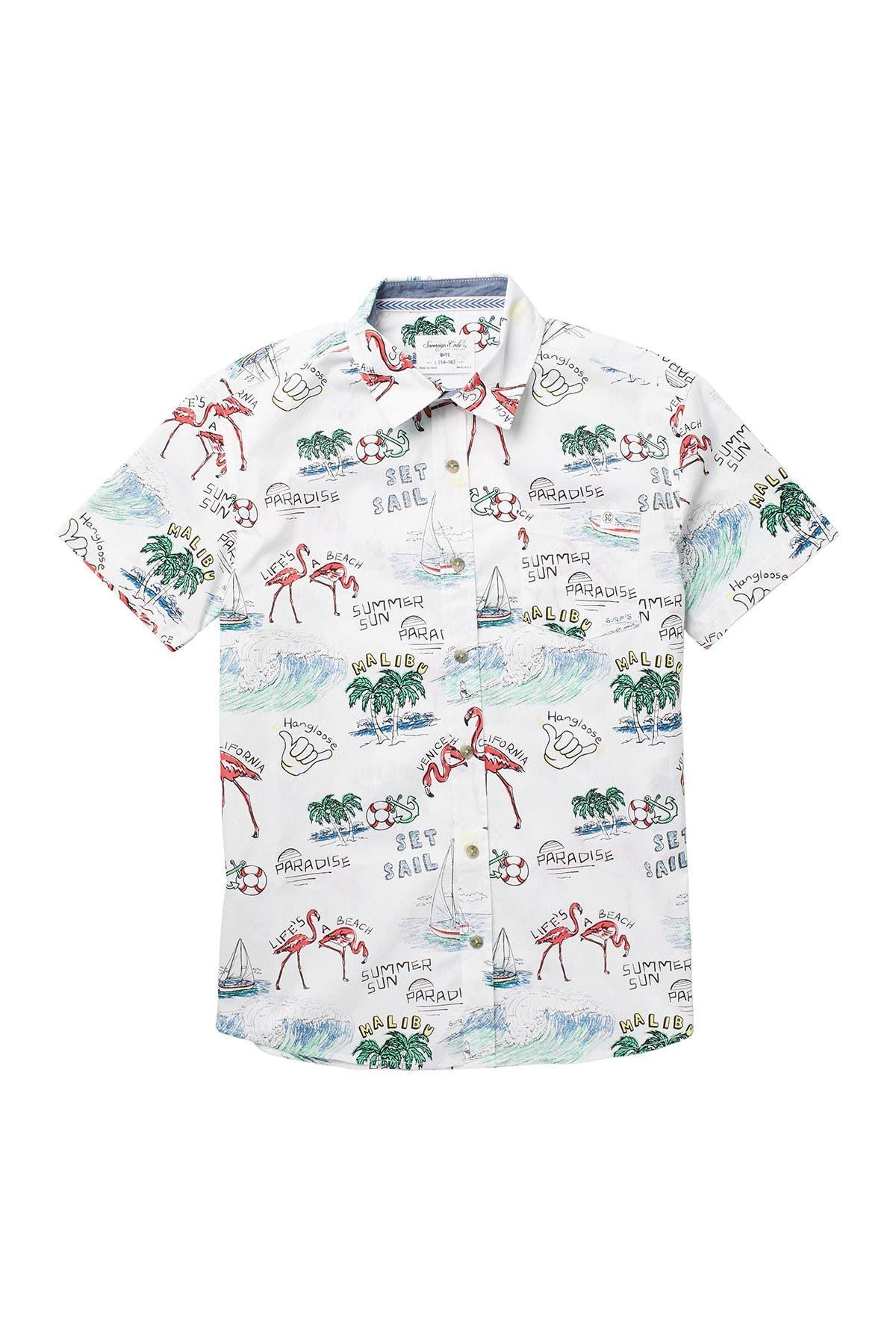 Image of Sovereign Code Big Sun Short Sleeve Shirt