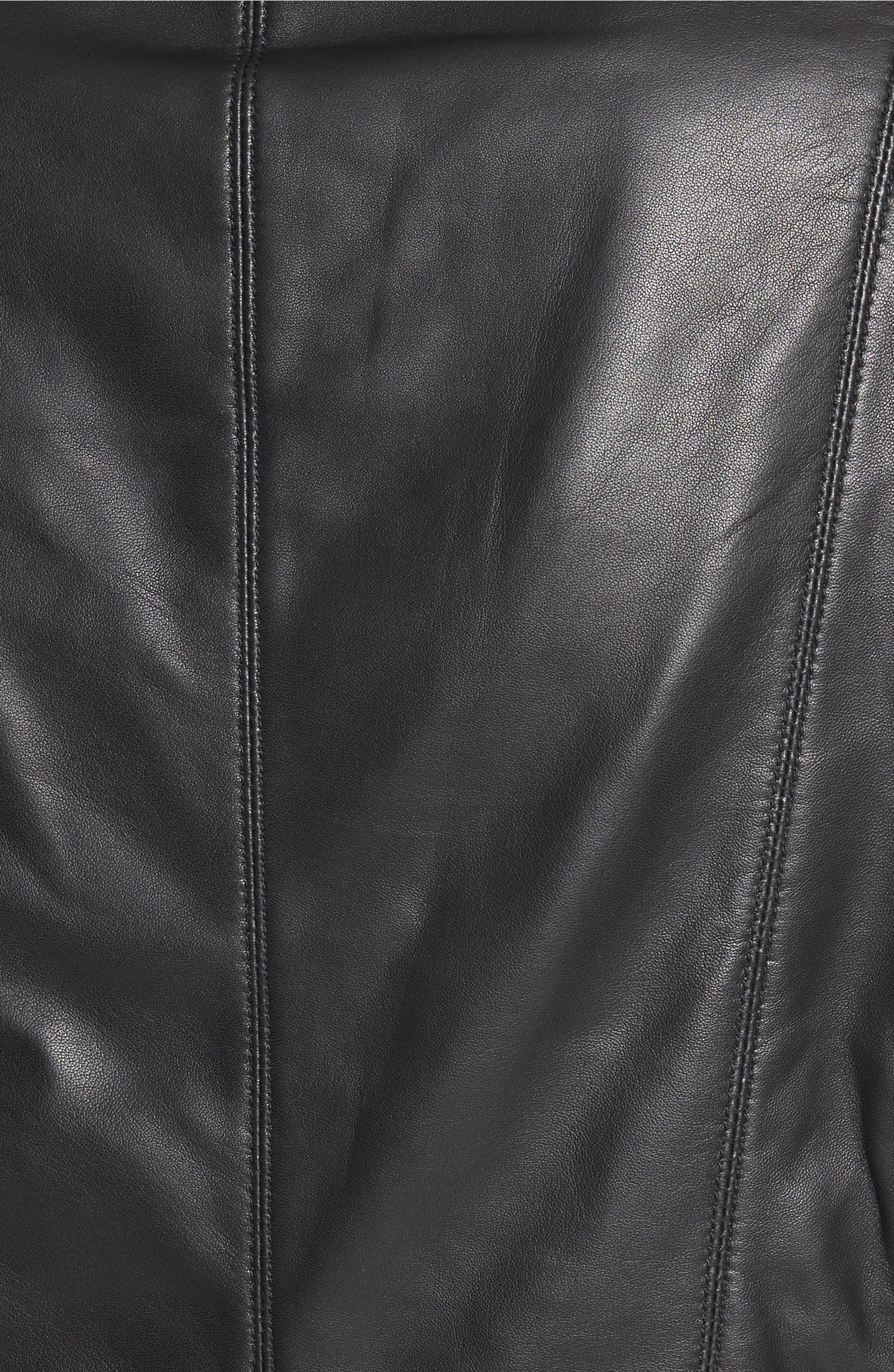 debaa38fd Nappa Leather Moto Jacket