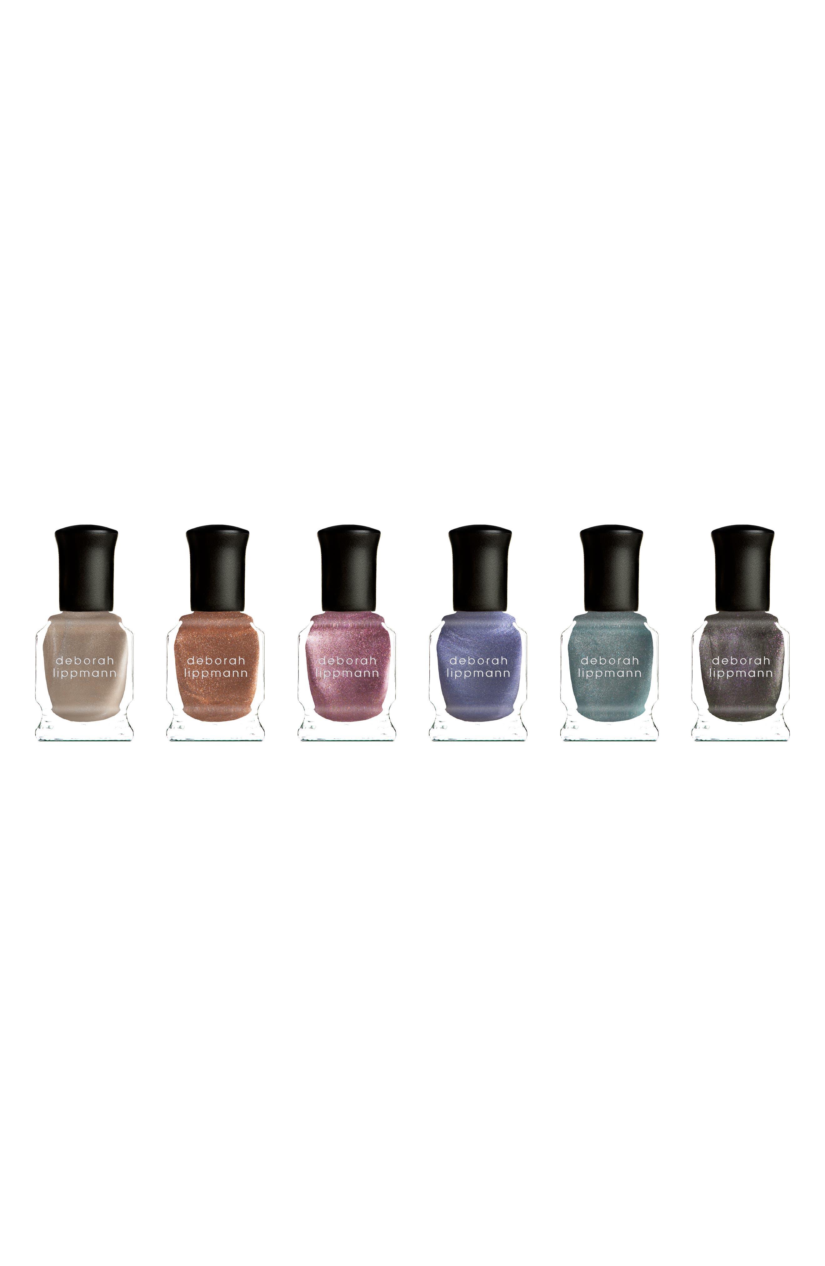 ,                             Liquid Metal Gel Lab Pro Nail Color Set,                             Main thumbnail 1, color,                             LIQUID METAL SET