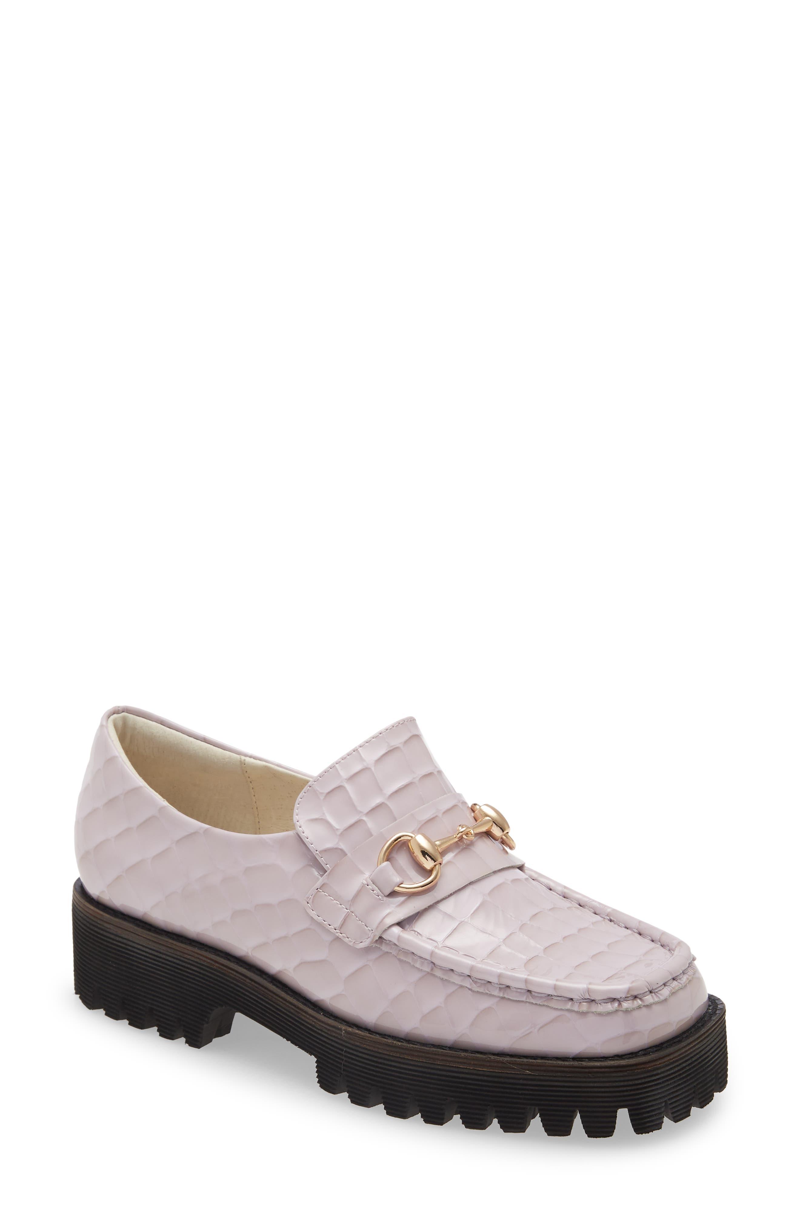Hk Croc Embossed Bit Loafer