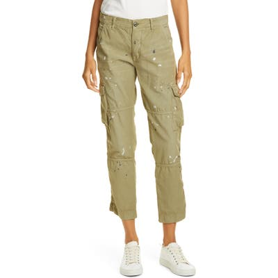 Nsf Clothing Basquiat Cargo Pants, 7 - Green