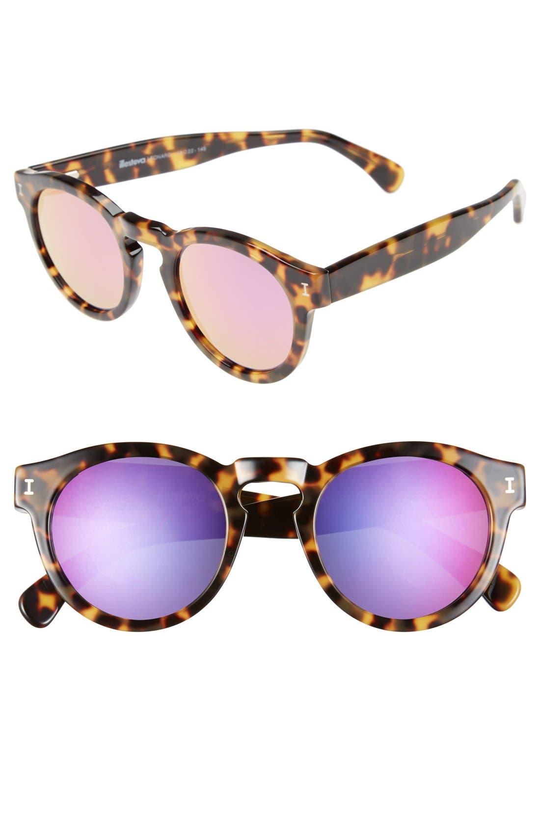 ,                             'Leonard' 47mm Sunglasses,                             Main thumbnail 90, color,                             215