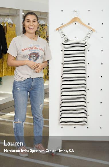 Midnight Tropic Body-Con Midi Dress, sales video thumbnail