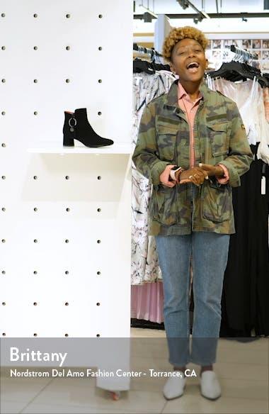 Chantal Ring Zip Bootie, sales video thumbnail