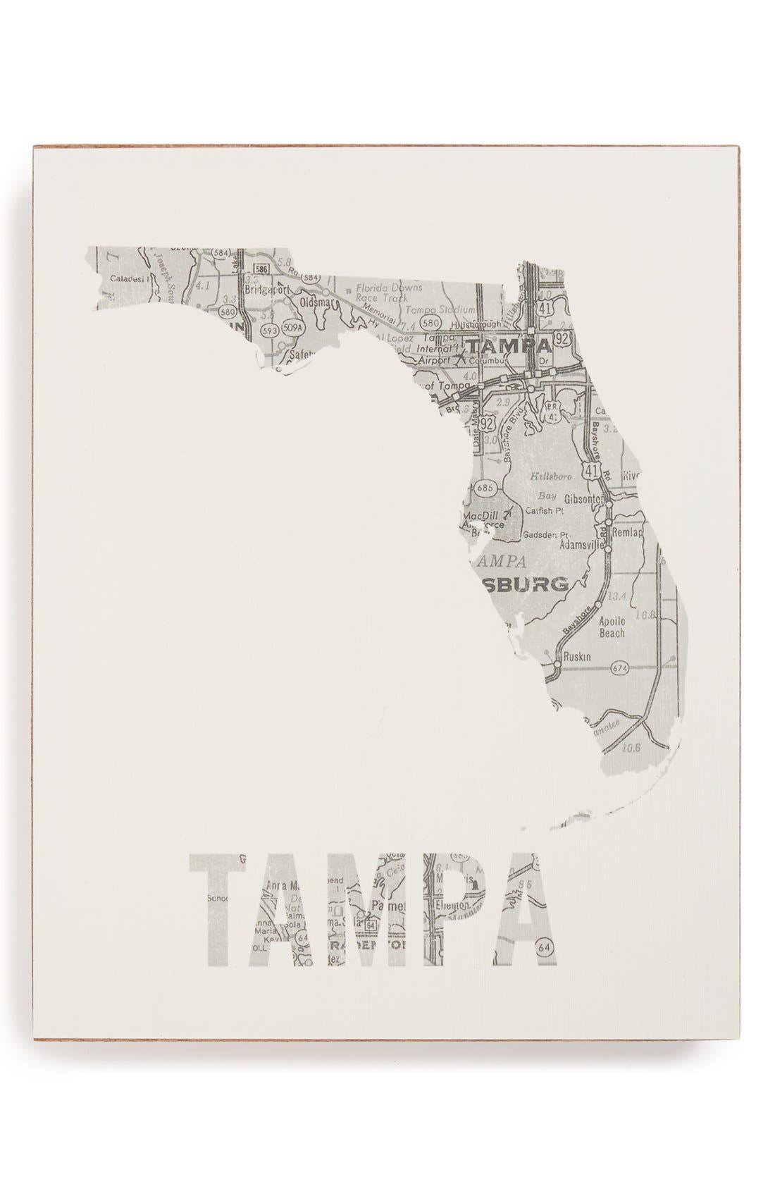 ,                             City Map Wall Art,                             Main thumbnail 41, color,                             058