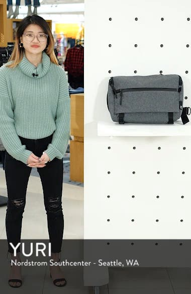 Travel Sling Crossbody Bag, sales video thumbnail
