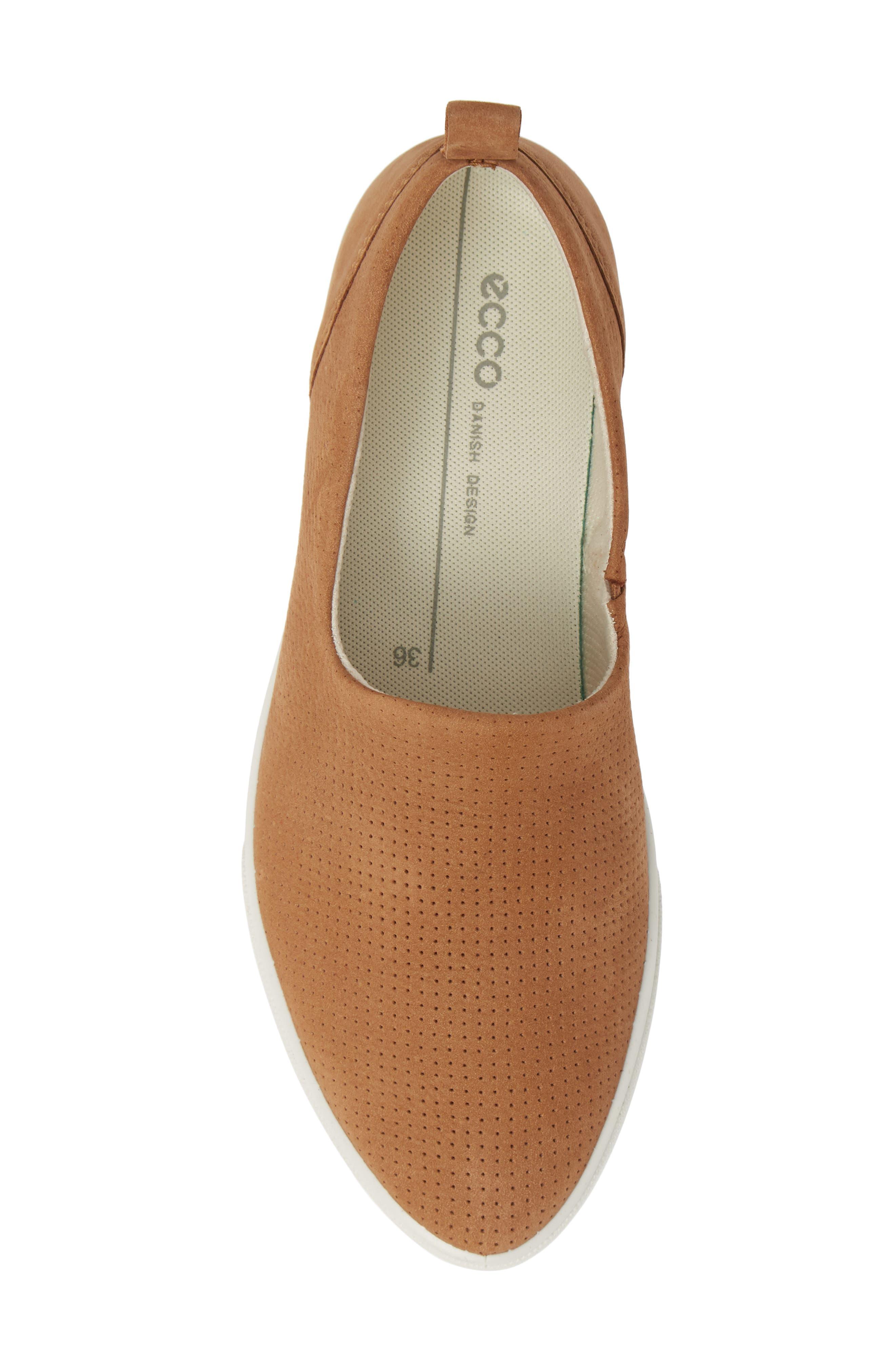 ,                             Gillian Slip-On Sneaker,                             Alternate thumbnail 5, color,                             CASHMERE LEATHER