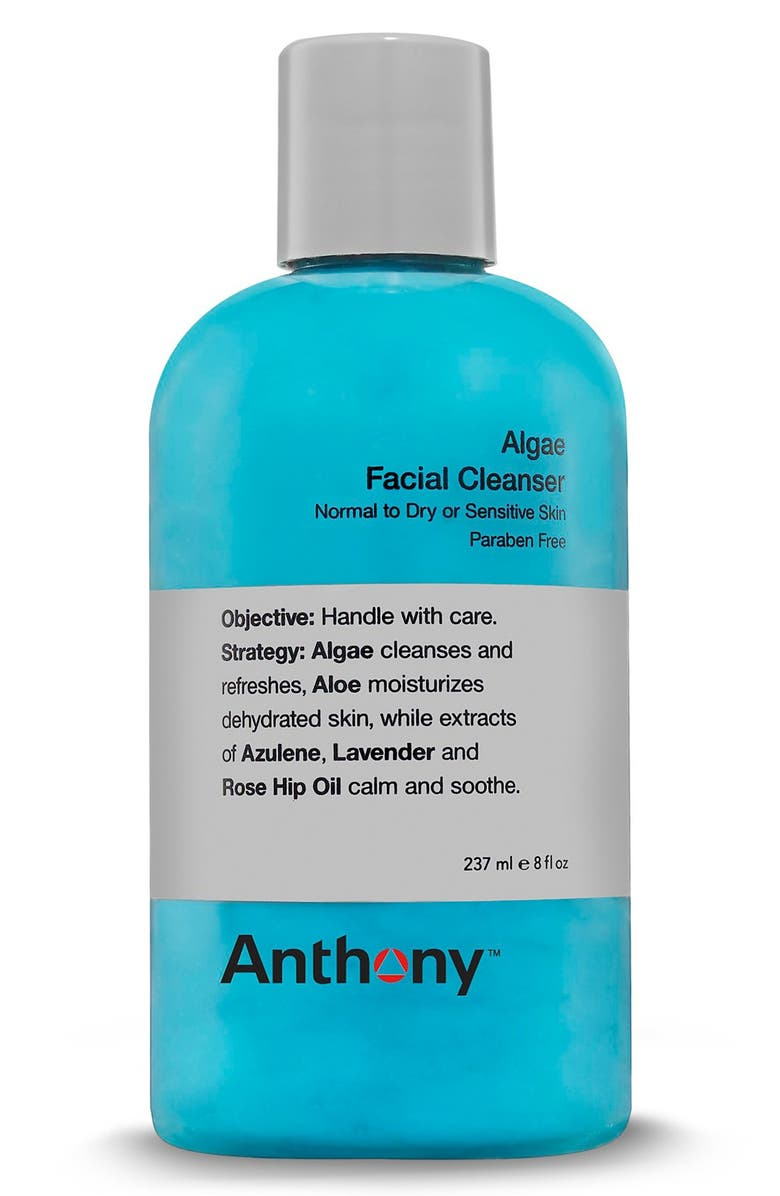 ANTHONY<SUP>™</SUP> Algae Facial Cleanser, Main, color, NO COLOR